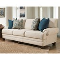Franklin 957 Sofa - Item Number: 95740-3926-08