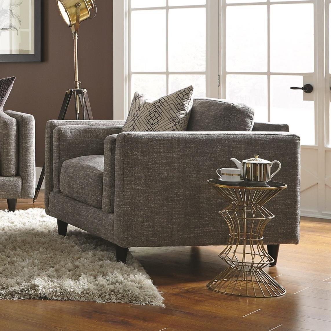 Franklin Argentine 838 Upholstered Chair - Item Number: 83888-3779-06