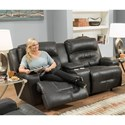 Franklin Armstrong Reclining Console Loveseat - Item Number: 71134-1742-02