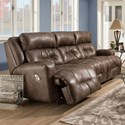 Franklin Armstrong Power Reclining Sofa with USB Port - Item Number: 71145-84-8624-15