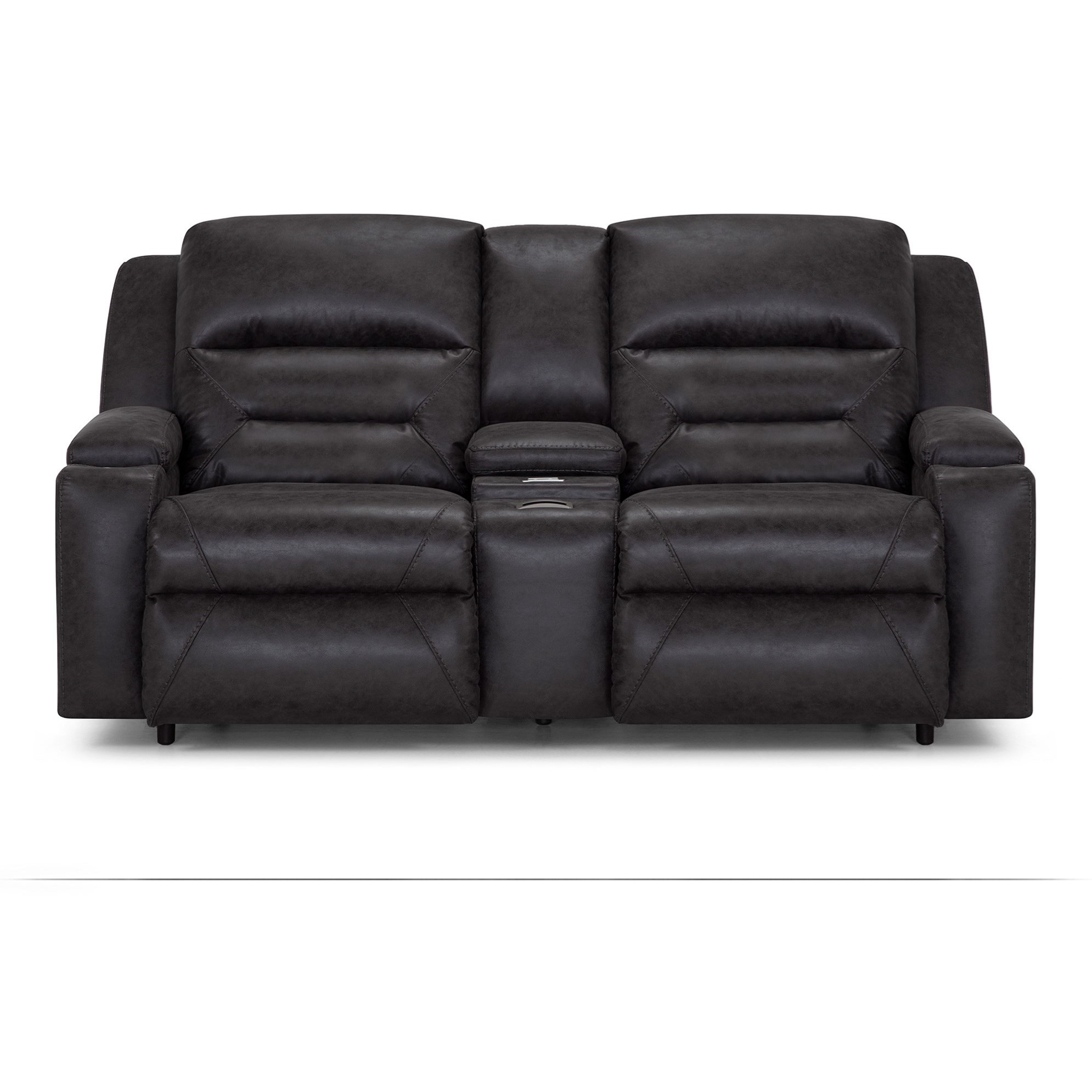 Beacon Power Reclining Loveseat by Franklin at Virginia Furniture Market