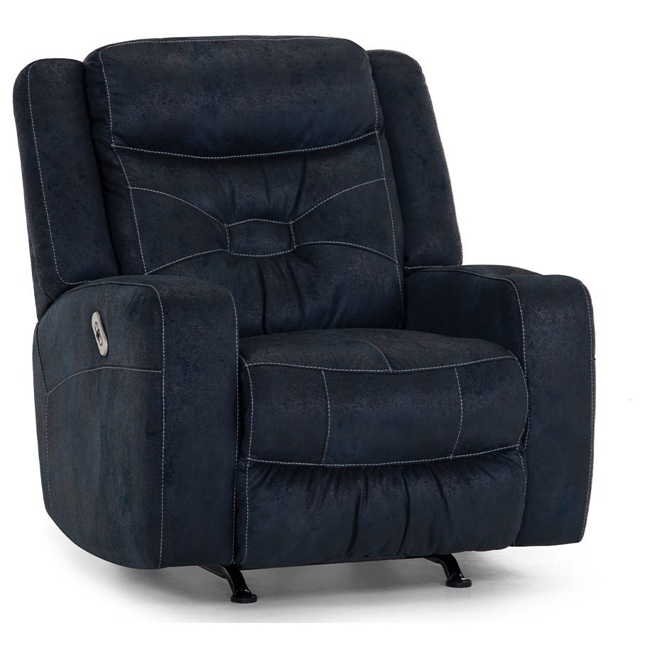 Dual Power Rocker Recliner with Cupholder