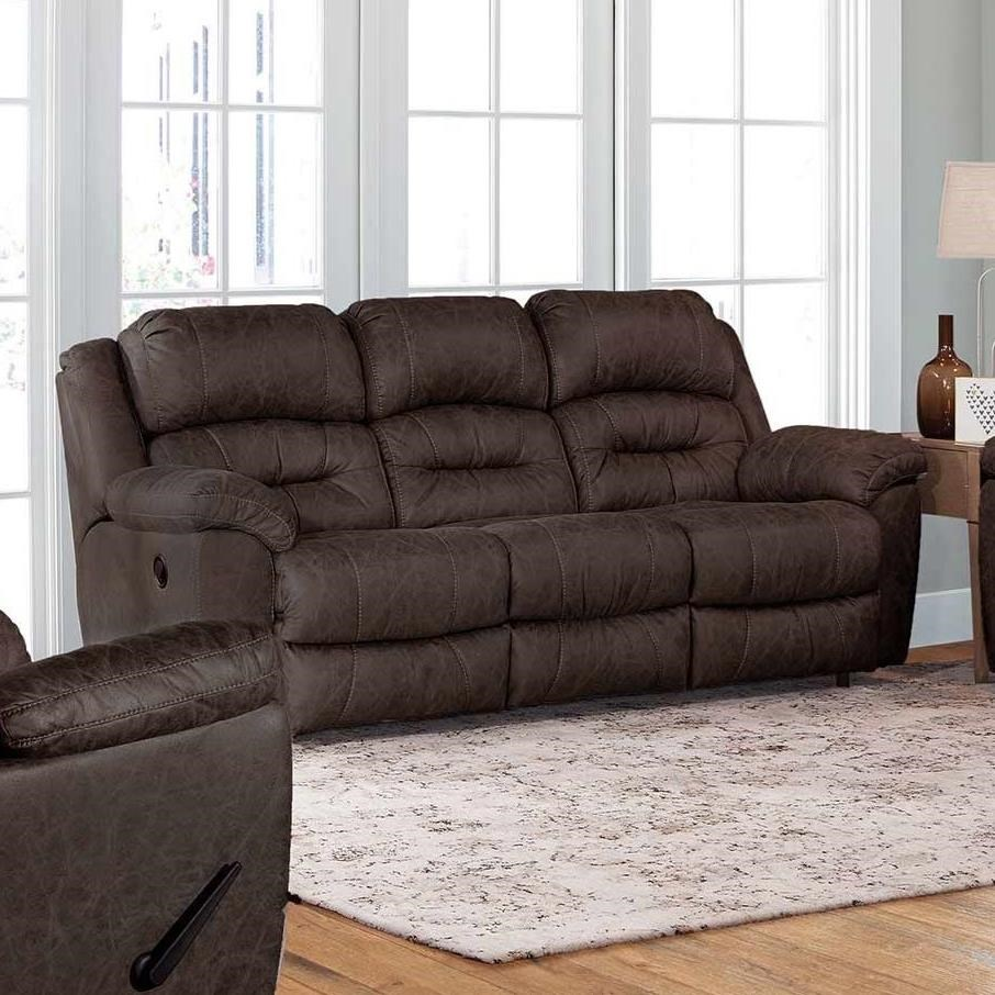 Bellamy Manual Reclining Sofa by Franklin at Virginia Furniture Market