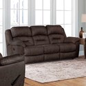 Franklin Bellamy Manual Reclining Sofa - Item Number: 77342-3960-15
