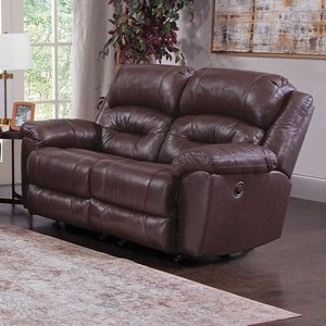 Manual Rocking Reclining Loveseat