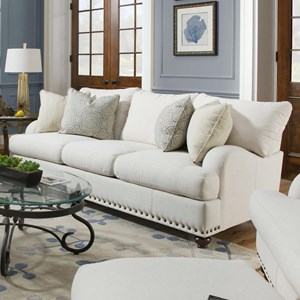 Franklin Brinton Sofa With Reversible Cushions Miskelly Furniture Sofas
