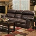 Franklin Butler Double Reclining Sofa - Item Number: 47142-8409-12