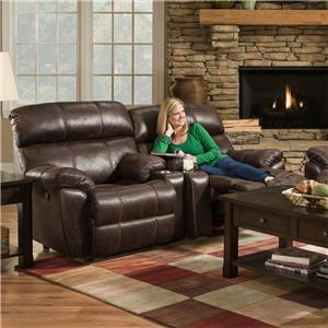 Franklin Butler Reclining Console Loveseat