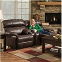 Franklin Butler Reclining Console Loveseat - Item Number: 47191-8409-12