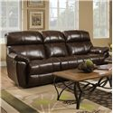 Franklin Butler Double Reclining Sofa - Item Number: 47192-LM72-15