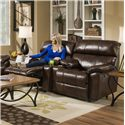 Franklin Butler Reclining Console Loveseat - Item Number: 47194-LM72-15
