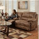 Franklin Caswell Double Reclining Two Seat Sofa with Casual Style - 45043 8311-15