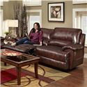 Franklin Caswell Double Reclining Two Seat Sofa with Casual Style - 45043 LM