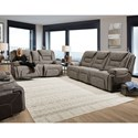 Franklin Centennial Reclining Living Room Group - Item Number: 704 Living Room Group 1 3833-20