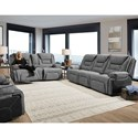 Franklin Centennial Reclining Living Room Group - Item Number: 704 Living Room Group 1 3833-24