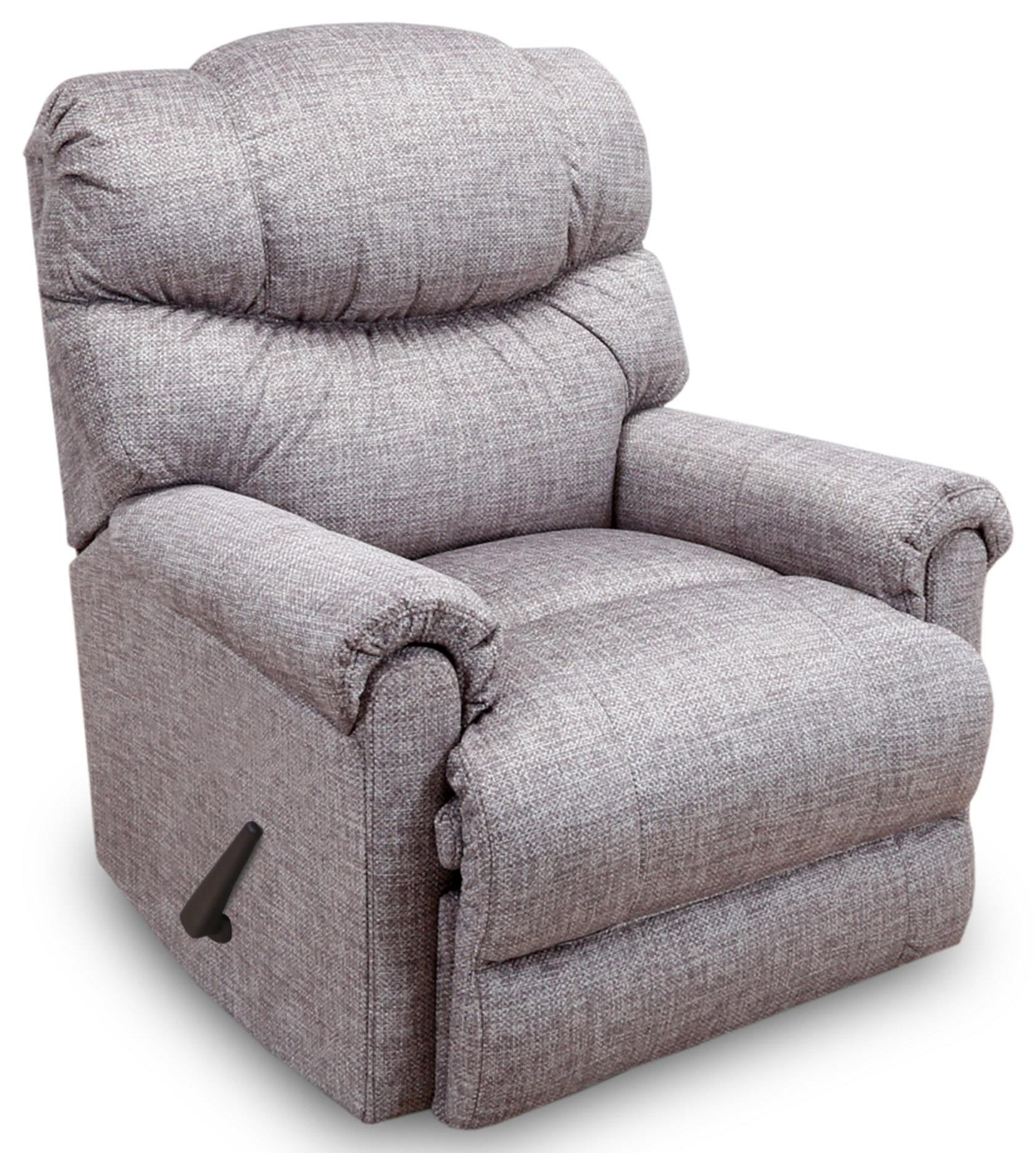 Franklin Recliners Handle Rocker Recliner - Item Number: 4524 1725-25