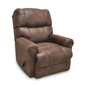 Franklin Recliners Captain Chestnut Rocker Recliner