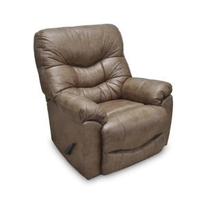 Franklin Recliners Trilogy Tan Rocker Recliner