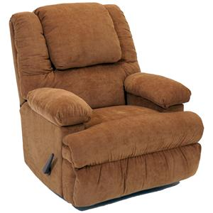 Franklin Rocker Recliners Rocker Recliner with Massage and Fridge