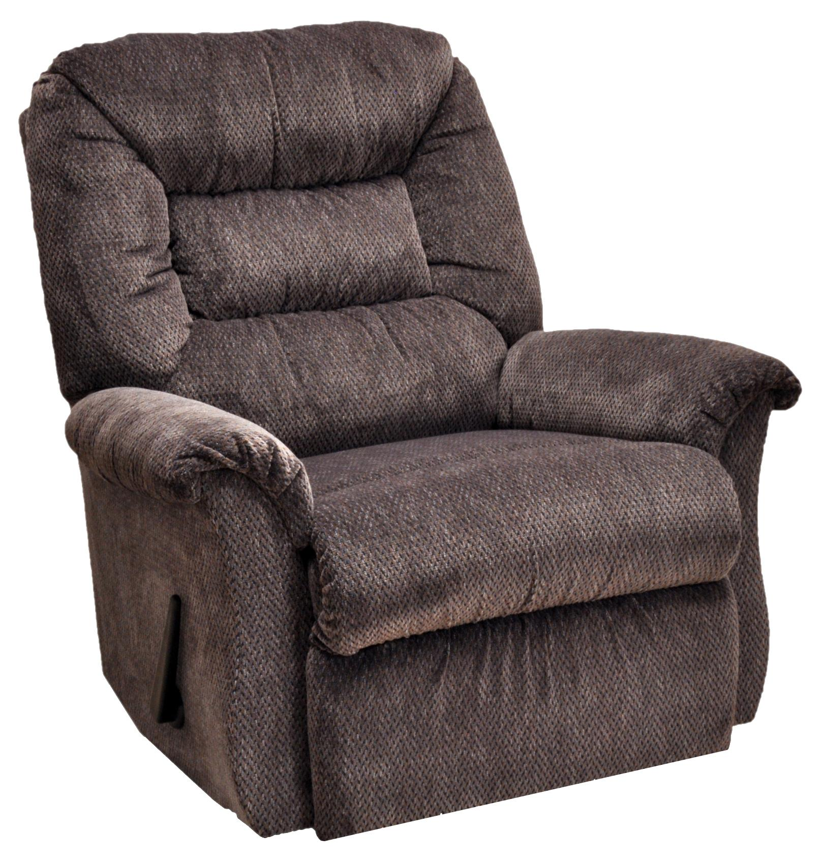 Franklin Rocker Recliners Chaise Rocker Recliner with Casual ...