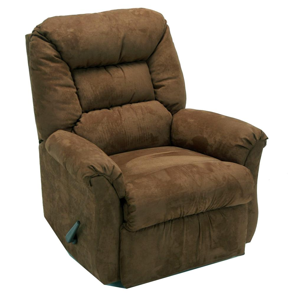 Franklin rocker recliners chaise rocker recliner with casual furniture style olinde 39 s - Stylish rocker recliner ...