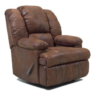 Franklin Rocker Recliners Recliner with Dual Heat and Massage