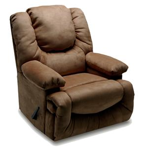 Franklin Rocker Recliners 6729 Chaise Rocker Recliner