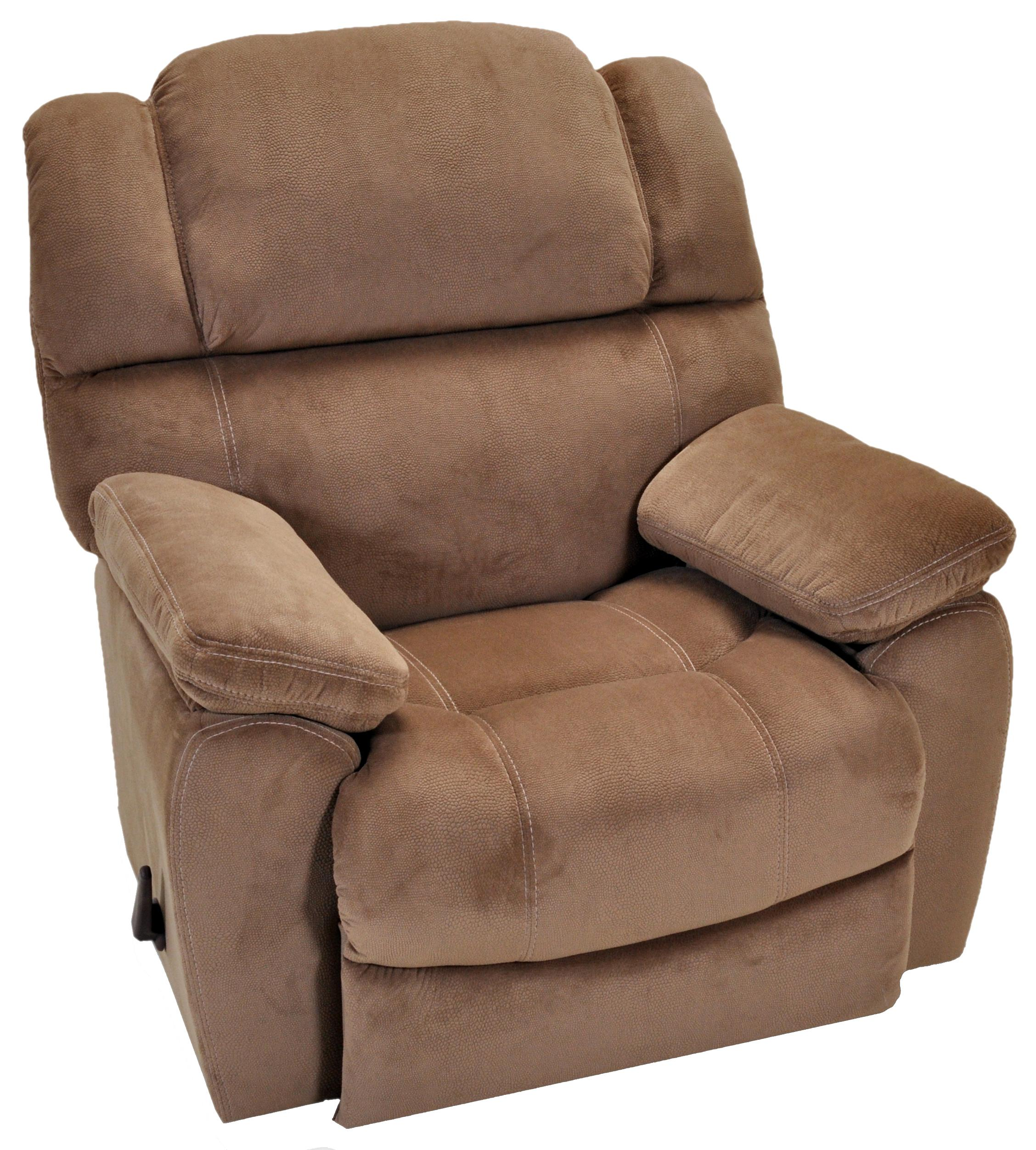 Franklin rocker recliners comfortable rocker recliner with sport style seam stitching miskelly - Stylish rocker recliner ...