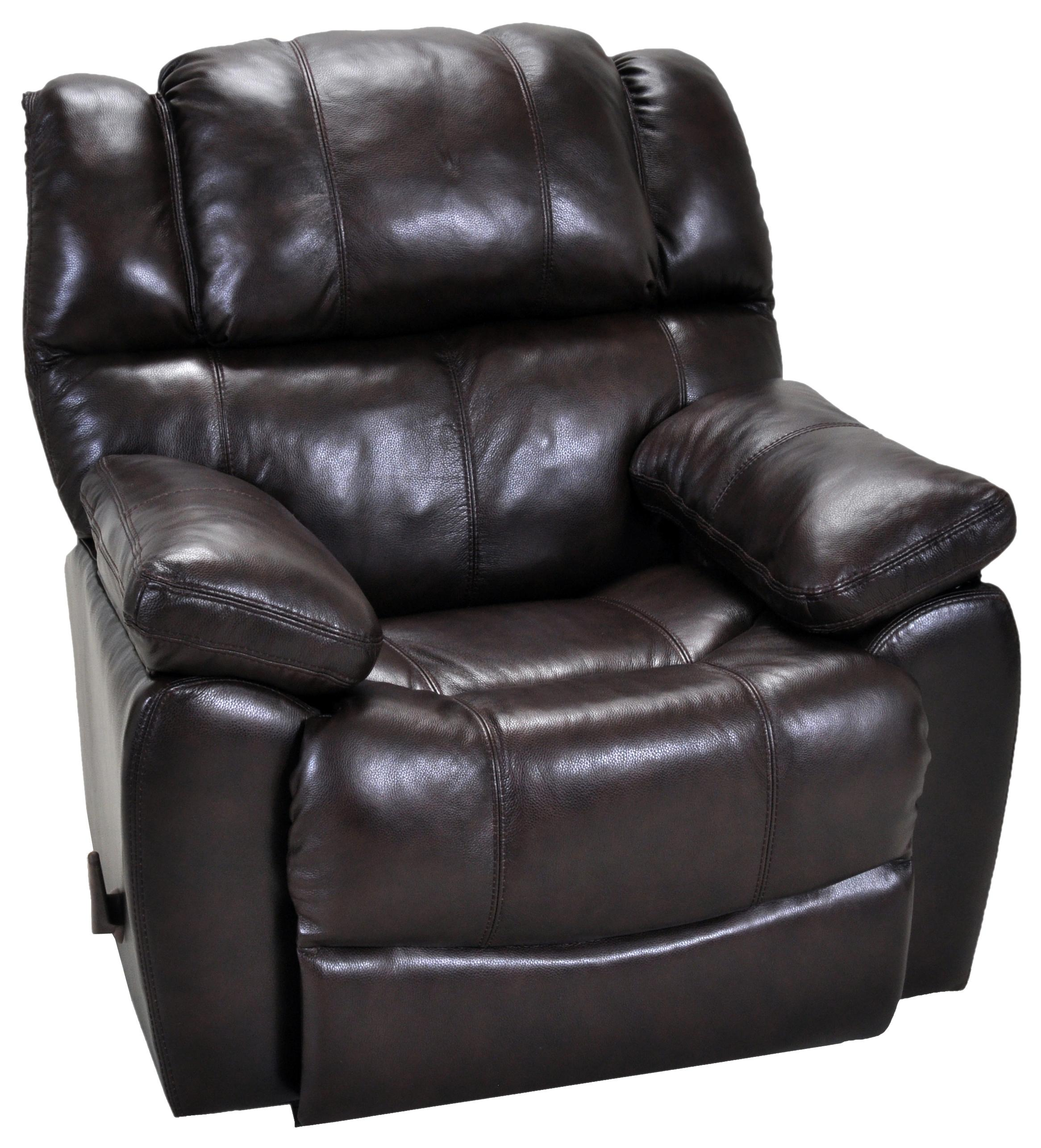 Franklin rocker recliners comfortable rocker recliner with sport style seam stitching olinde 39 s - Stylish rocker recliner ...