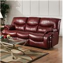 Franklin Challenger Reclining Sofa - Item Number: 48642 LM63-73