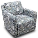 Franklin Chelsea Swivel Accent Chair - Item Number: 2183-3632-38