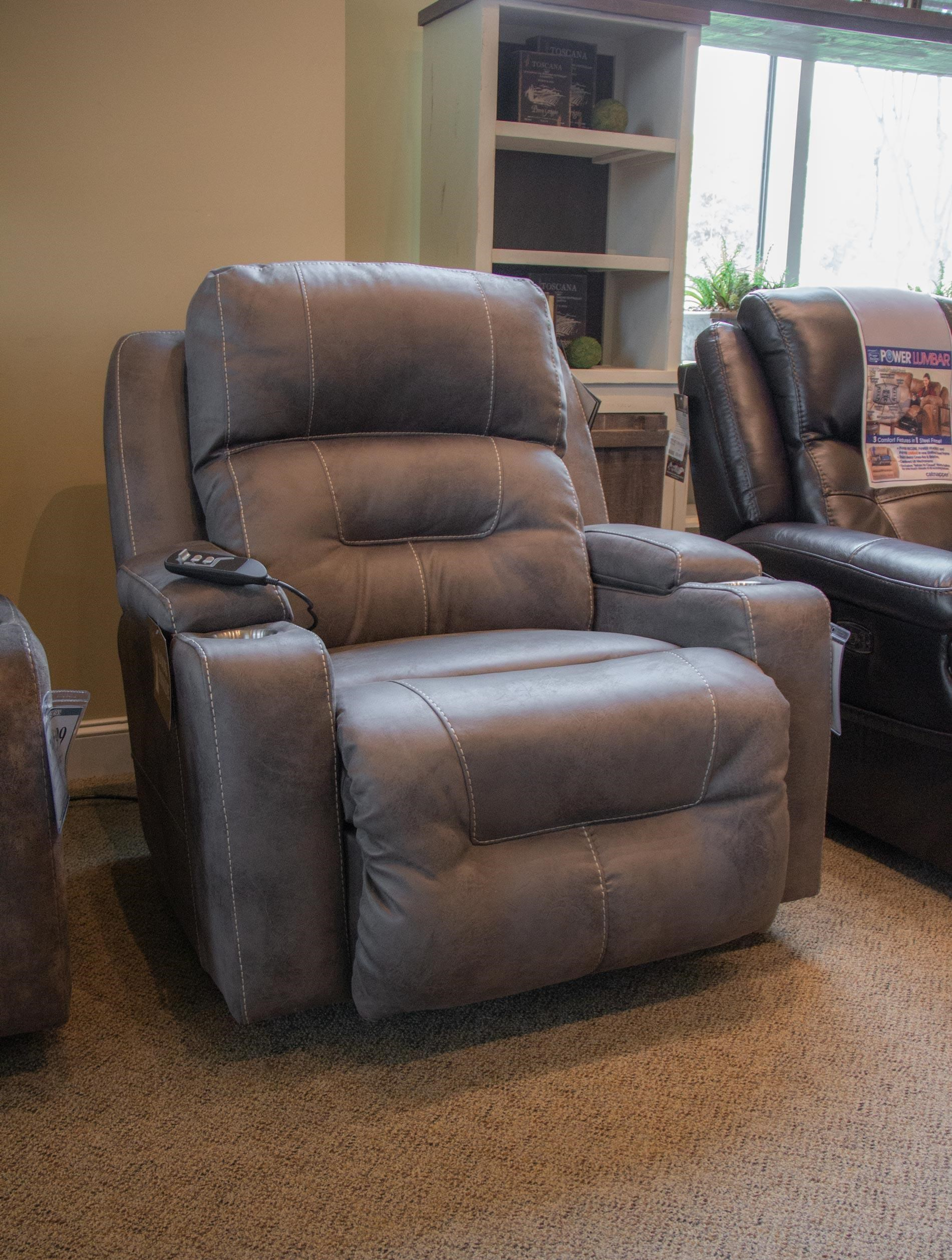 Terrific Commander Triple Triple Power Rocker Recliner With Lig Dailytribune Chair Design For Home Dailytribuneorg