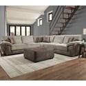 Franklin Emerie Sectional Sofa - Item Number: 85459+99+60-1729-06
