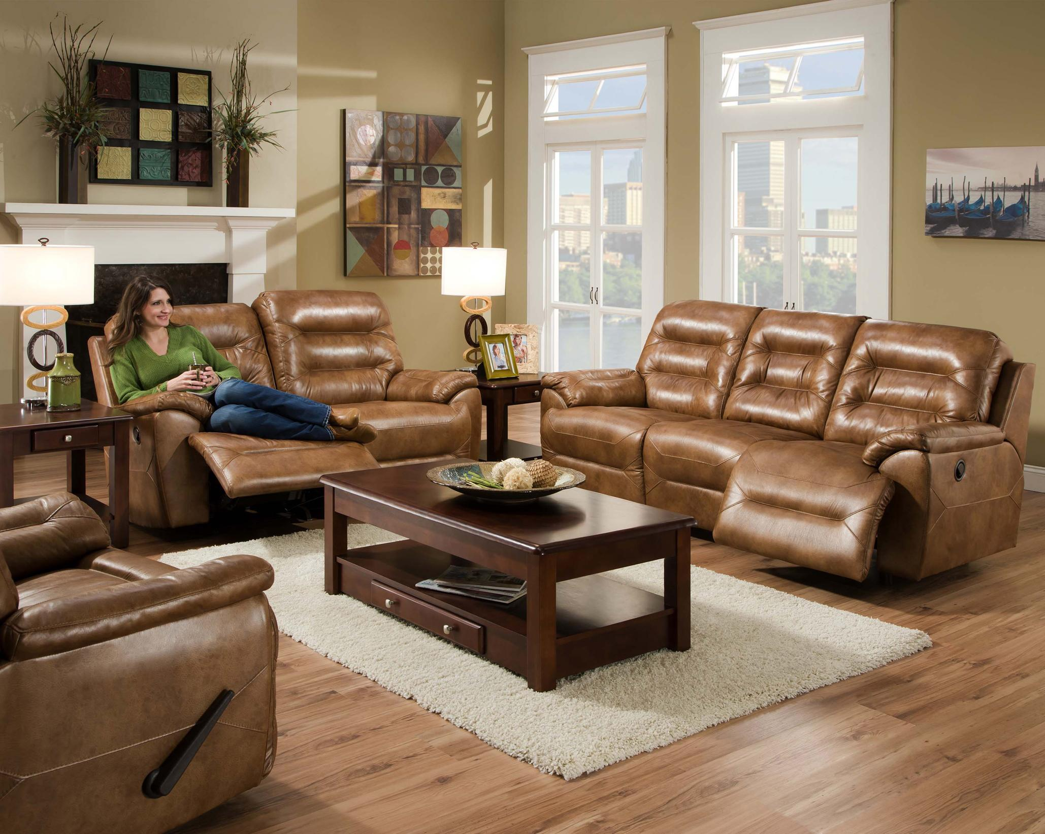 Franklin Freedom Two Seat Rocking Reclining Loveseat
