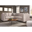Franklin Hawthorne 2 Piece Sectional Sofa - Item Number: 82159-3741-26+82150-3741-26