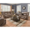Franklin Hector Power Reclining Living Room Group - Item Number: 764 Living Room Group 2 8706-13