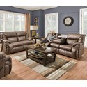 Franklin Henson Reclining Living Room Group - Item Number: 364 Living Room Group 1