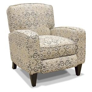 Franklin High and Low Leg Recliners Lucy Driftwood Pushback Recliner