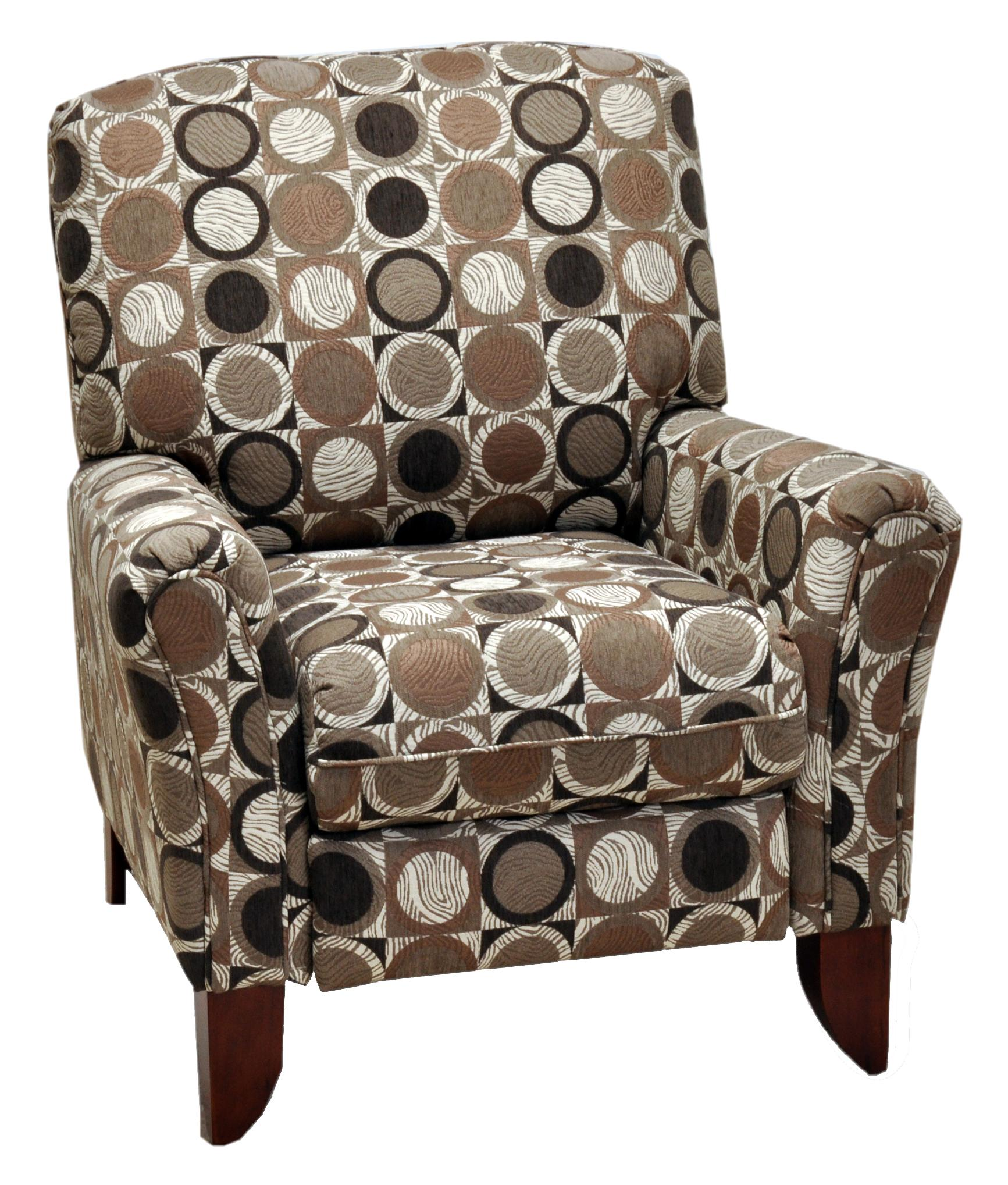 . Franklin High and Low Leg Recliners Lola High Leg Recliner with