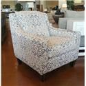 Franklin Hobbs Landon Driftwood Accent Chair - Item Number: 2174 3526-04