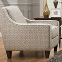 Franklin Monty Accent Chair - Item Number: 2174-Monty-Accent-Fabric