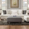 Franklin Monty Sofa - Item Number: 86440-3613-28