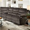 Franklin Legend Double Reclining Sofa with Casual Style - 41842 8316-05