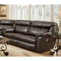 Franklin Lewis Power Reclining Sofa - Item Number: 75143-83-8707-12