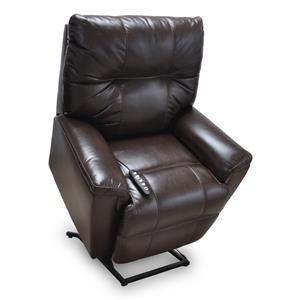 Franklin Lift and Power Recliners Finn Pwr Lay Flat Lift Chair w/Pwr Head