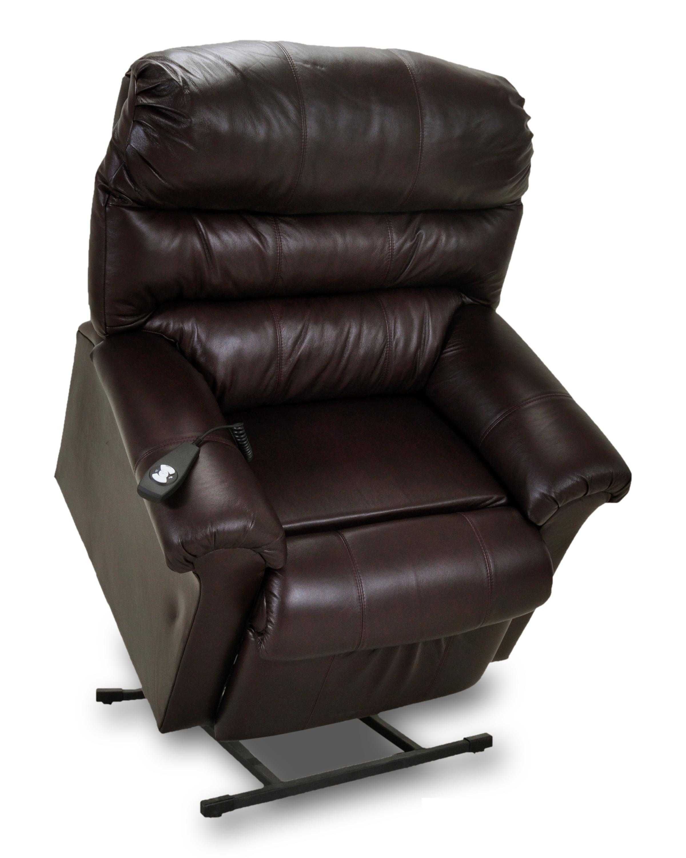 Leather Lift and Power Recliner