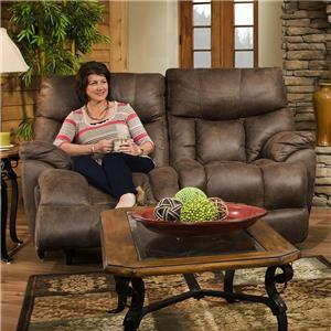 Franklin Mammoth Reclining Loveseat
