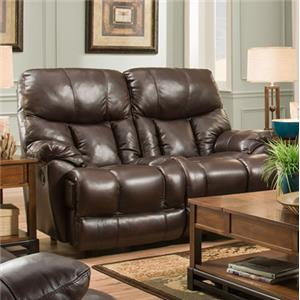 Franklin Mammoth POWER Reclining Loveseat