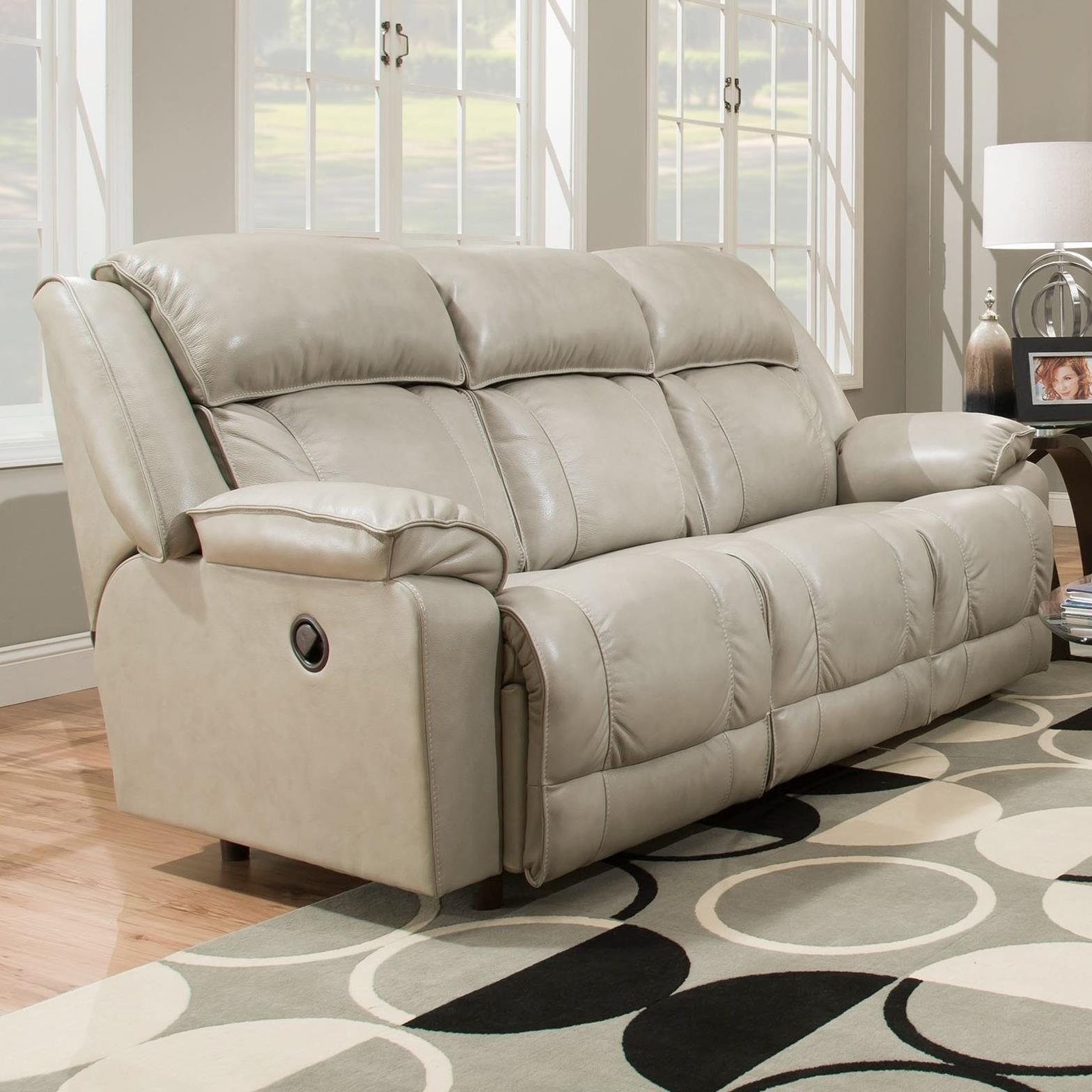 Franklin Marshall Power Reclining Sofa Howell Furniture