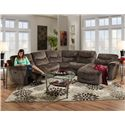 Franklin Milano  Power Sectional Sofa